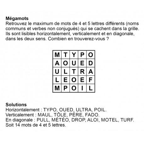 Mégamots 5x5 n° 11