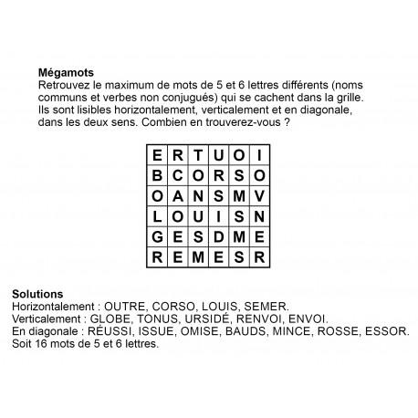 Mégamots 6x6 n° 2