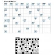 Anamots fléchés 17x11 n° 4