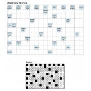 Anamots fléchés 17x11 n° 5