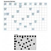 Anamots fléchés 17x11 n° 6