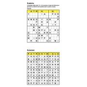 Sudoku / Wordoku 12x12 n° 2 - Mot mystère - Niveau Facile