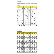 Sudoku / Wordoku 12x12 n° 3 - Mot mystère - Niveau Moyen