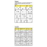 Sudoku / Wordoku 12x12 n° 4 - Mot mystère - Niveau Moyen