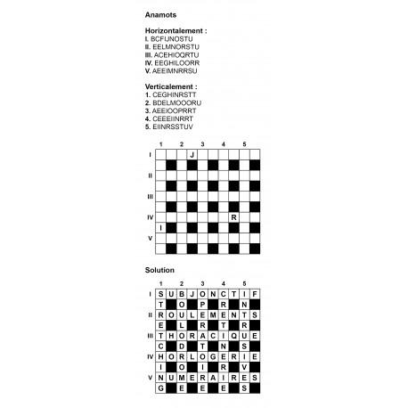 Anamots 10x10 n° 1