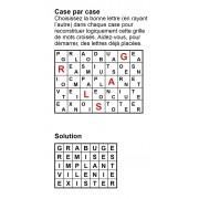 Case par case 7x5 (en largeur) n° 1