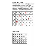 Case par case 7x5 (en largeur) n° 2