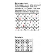 Case par case 7x5 (en largeur) n° 4