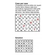 Case par case 7x5 (en largeur) n° 5