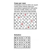 Case par case 7x5 (en largeur) n° 6