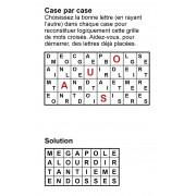 Case par case 8x4 (en largeur) n° 2