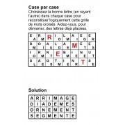 Case par case 8x4 (en largeur) n° 5