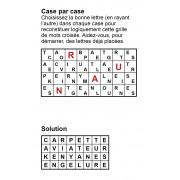 Case par case 8x4 (en largeur) n° 6