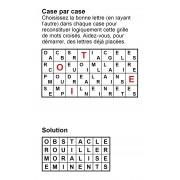 Case par case 8x4 (en largeur) n° 7