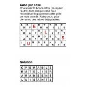 Case par case 8x4 (en largeur) n° 9