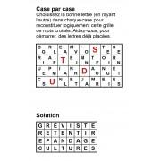 Case par case 8x4 (en largeur) n° 10
