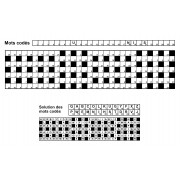 Mots codés 31x7 n° 1 (largeur)