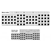 Mots codés 31x7 n° 3 (largeur)