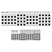 Mots codés 31x7 n° 7 (largeur)