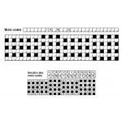 Mots codés 31x7 n° 8 (largeur)