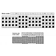 Mots codés 31x7 n° 9 (largeur)