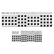 Mots codés 31x7 n° 10 (largeur)