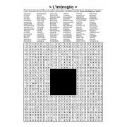 L'Imbroglio / Mots en zigzag / 30x30 / Grille n° 16 sur le théâtre