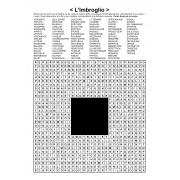 L'Imbroglio / Mots en zigzag / 30x30 / Grille n° 17 sur le théâtre