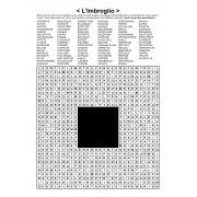 L'Imbroglio / Mots en zigzag / 30x30 / Grille n° 18 sur le théâtre